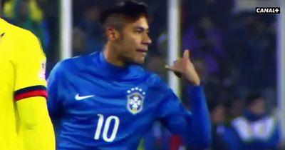 Neymar beschimpft seinen Gegenspieler als H**ensohn!