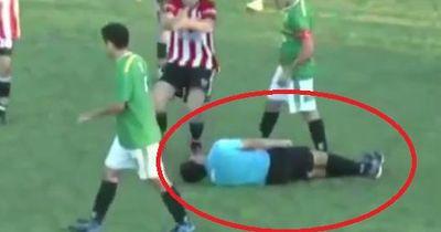 Video: Argentinier boxt Schiedsrichter bewusstlos!