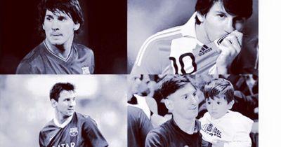 So gratulierte Mario Götze Lionel Messi zum Geburtstag!