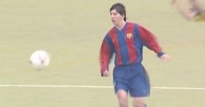 Video: Lionel Messi zaubert in Barcelonas U16!