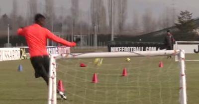 Video: Irres Duell zwischen Paul Pogba und Trainer Allegri!