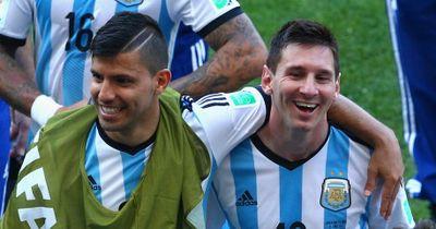 Sergio Aguero erkannte Lionel Messi bei ihrem ersten Treffen nicht!