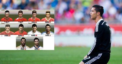 Die Entwicklung von Messi und CR7 bei  FIFA!