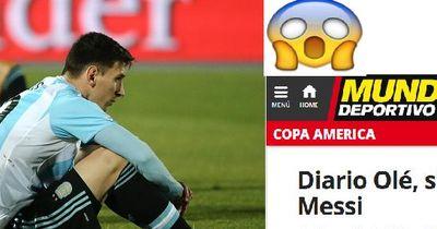 Verliert Messi seine Kapitänsbinde?