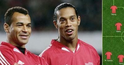 Ronaldinho bestimmt seine Traumelf