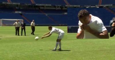Spieler-Vorstellung bei Real Madrid: Danilo blamiert sich