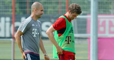 Trainingszoff zwischen Pep Guardiola und Thomas Müller!