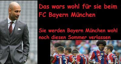 Diese 5 Spieler sollen den FC Bayern München noch verlassen!