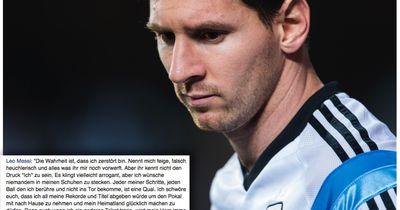 Leo Messi: Der Fußball-Gigant ist auch nur ein Mensch