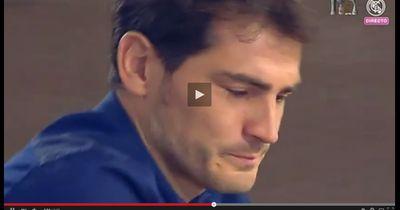 Casillas tränenreiche Pressekonferenz