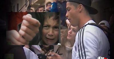 Wenn Cristiano Ronaldo dein Trikot signiert