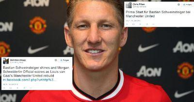 Schweinsteiger Debüt für Manchester United!