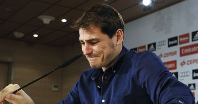 Real Madrid lässt Iker Casillas ziehen.