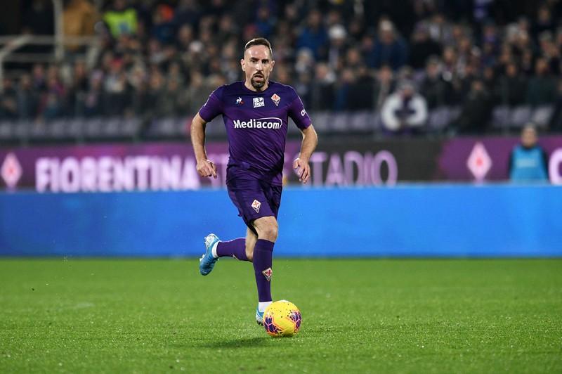 Frank Ribery belegt mit seiner Schnelligkeit den 9. Platz.