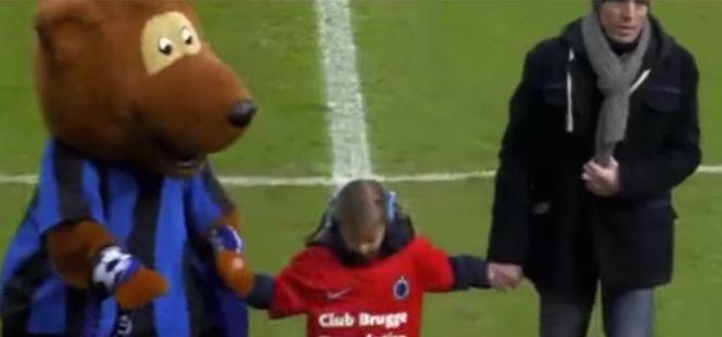 FC Brügge erfüllt seinem treusten Fan den letzten Wunsch