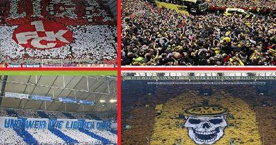 Die fußballbegeisterten Regionen in Deutschland!