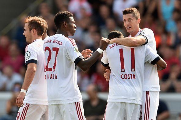 Bayern München bleibt weiter die Nummer 1!