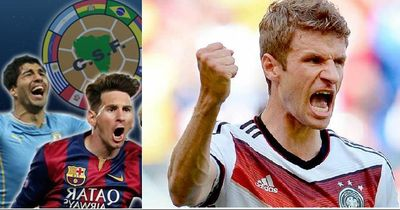 Geil! Eine Südamerika-Auswahl gegen unsere deutsche Nationalelf!