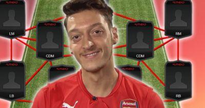 Die Traumelf unseres Weltmeisters Mesut Özil!