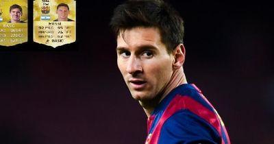 Riesen Skandal bei der neuen Fifa-Karte von Lionel Messi!