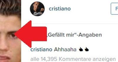 Cristiano Ronaldo: Das ist seine lustige Seite!