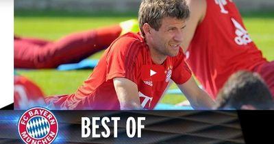 So verbrachte Thomas Müller seinen Geburtstag!