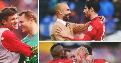 Enthüllt: So feierte Bayern in der Kabine!