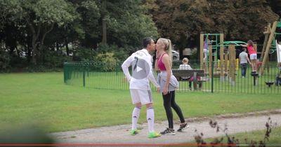 """Video: """"Neymar"""" knutscht wahllos fremde Mädchen!"""