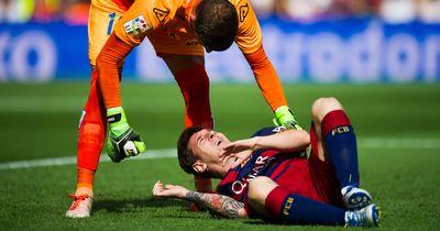 Nach Messis Verletzung schickte dieser Münchener ihm eine SMS!