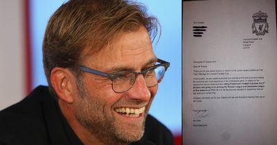 Dieser Fan bewarb sich bei Liverpool als Trainer - die Antwort vom Boss ist genial!