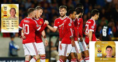 Manchester United - Star vs FIFA-Profi