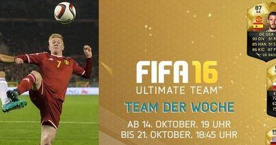 Brandaktuell: Das neue Fifa 16 Team der Woche!