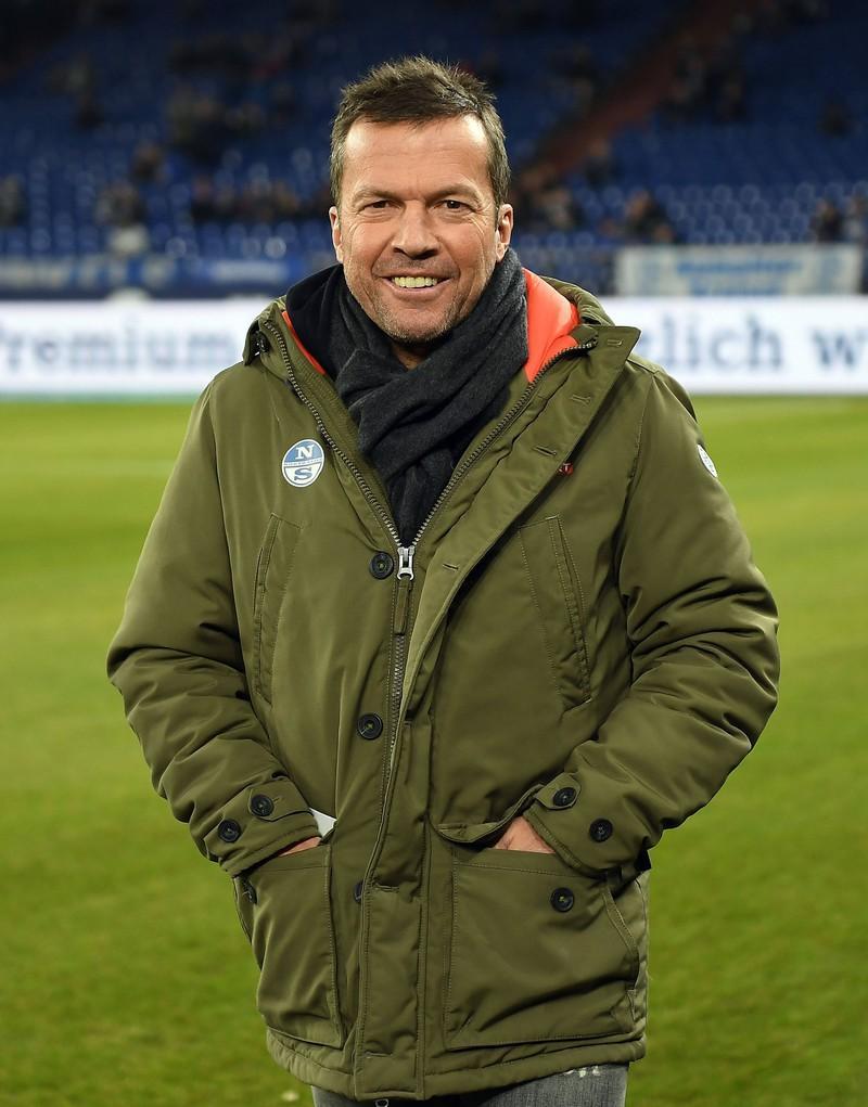 Dieses Bild zeigt den Fußball-Trainer Lothar Matthäus.
