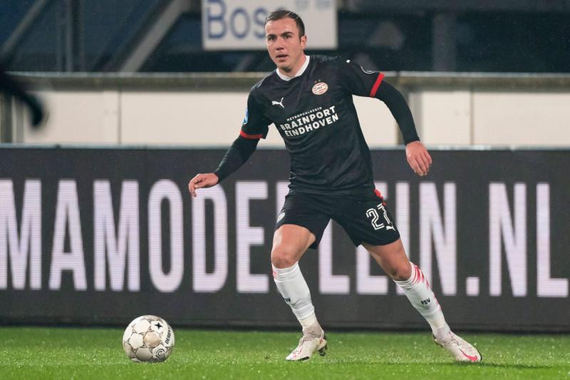 Dieses Bild zeigt den Fußballer Mario Götze.