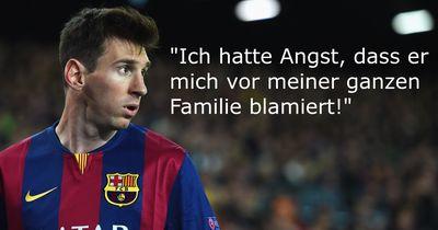 Dieser Superstar hatte mega Angst gegen Messi zu spielen!