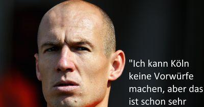 Robben lästert über Köln!