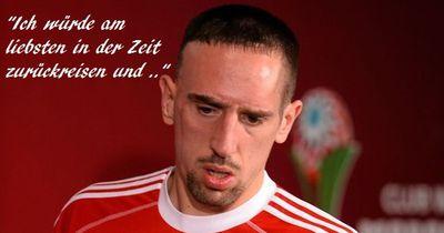 Ribéry: Das war das schlimmste, was mir bei Bayern passiert ist!