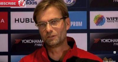Wegen dieser Frage rastete Jürgen Klopp im Interview total aus!