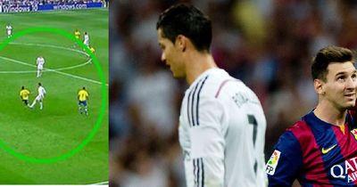 Video: CR7 tritt Las Palmas Spieler zu Boden!