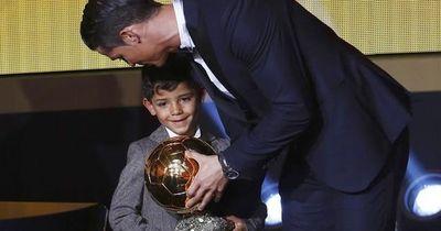 Geil: Cristianos Sohn traf Lionel Messi und dann passierte das...!