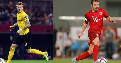 Mario Götze und Marco Reus!