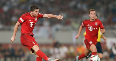Robert Lewandowski soll bald in Spanien spielen