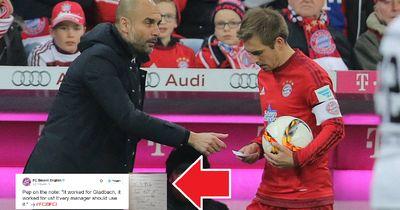 """Bayern enthüllt: """"DAS stand auf dem Zettel!"""""""