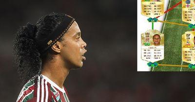 Das ist die Traumelf von Ronaldinho!