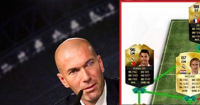 Das ist die Traumelf vom neuen Real Trainer Zinedine Zidane