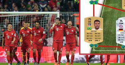 """Die """"Looser-Elf"""" des FC Bayern Münchens. Damit stünden sie im Abstiegskampf!"""