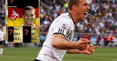 Der krasse Absturz von Lukas Podolski von Fifa10 bis Fifa 16