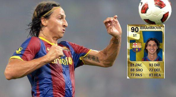 Das ist die beeindruckende Entwicklung von King Zlatan von Fifa 10 bis Fifa 16