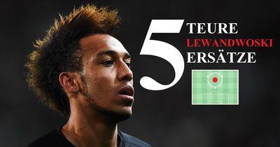 5 Spieler in die Bayern VIEL Geld investieren sollte, um Lewandowski zu ersetzen!