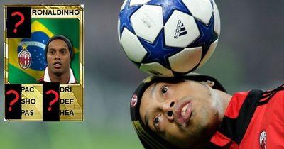 Das ist die geile Entwicklung von Ronaldinho von Fifa10 bis Fifa 15!